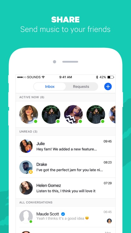 Sounds app - Music And Friends