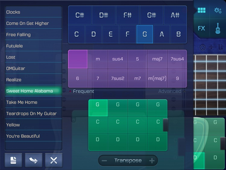 OMGuitar - Digital Guitar with FX and Autoplay screenshot-3