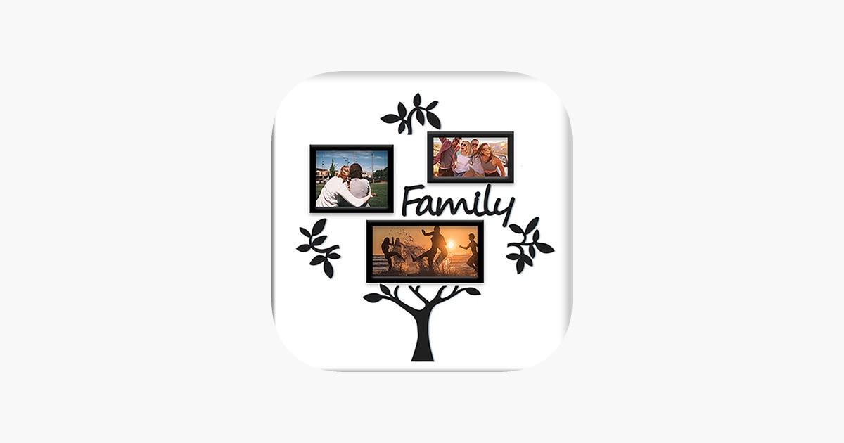 Collage del árbol de familia - marcos de la foto en App Store