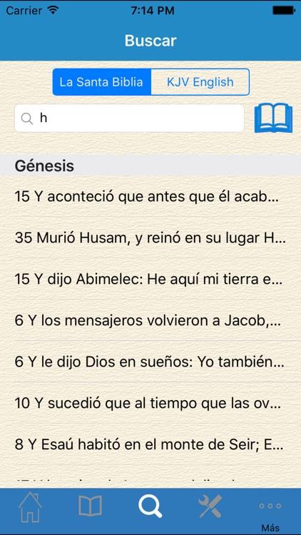La Santa Biblia en Español screenshot-3