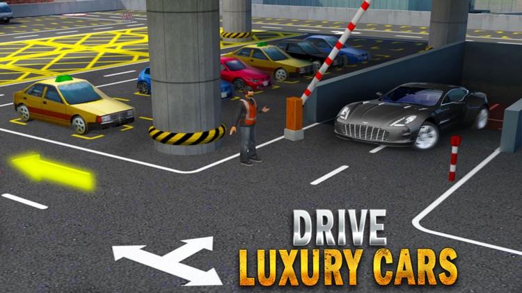 Multi Level Car Parking Spot: Driving School Game screenshot-4