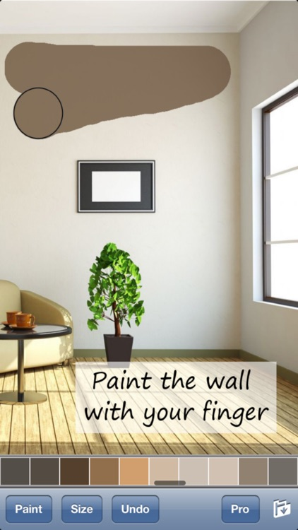 Paint My Wall Pro - Virtual Room & House Painting screenshot-0
