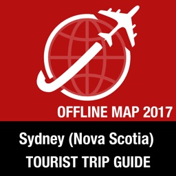 Sydney (Nova Scotia) Tourist Guide + Offline Map