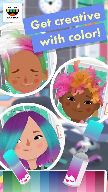 Toca Hair Salon 3 app image