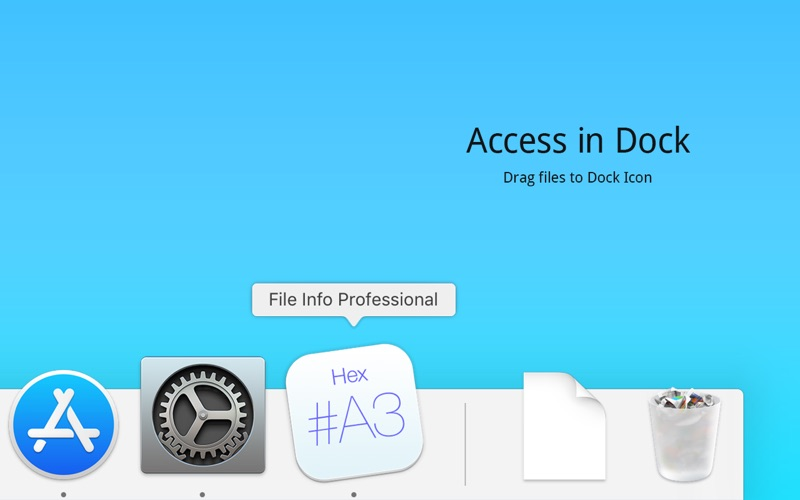File Info Professional Screenshot
