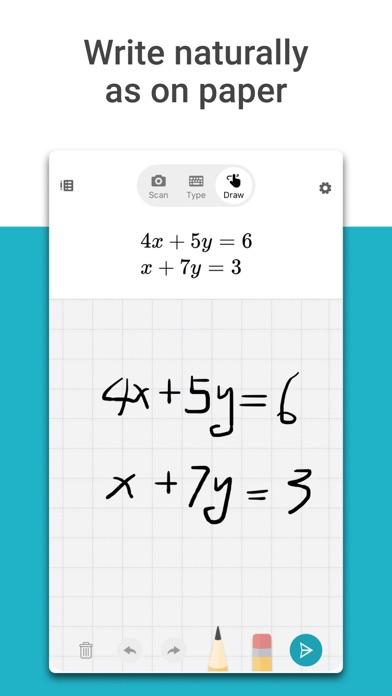 Microsoft Math Solver - HW app screenshot 2