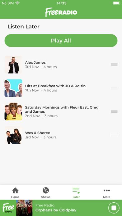 Free Radio – West Midlands screenshot three