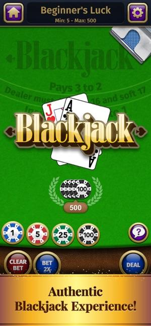 Blackjack On The App Store