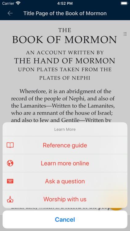 The Book of Mormon screenshot-4