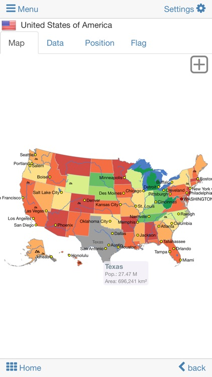 World atlas & map MxGeo Pro screenshot-3