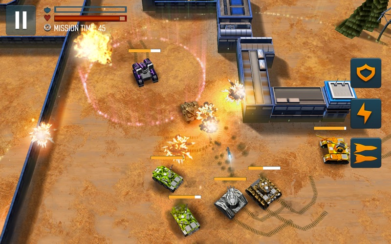 Tank Battle Heroes: PvP Brawls screenshot 7