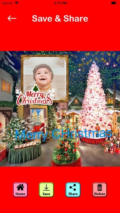 Christmas Photo Editor Collage screenshot-9