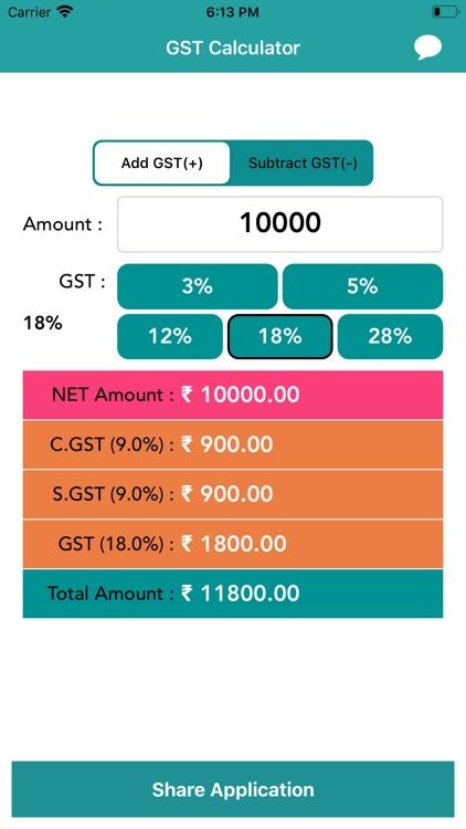 GST Calculator - India screenshot-3