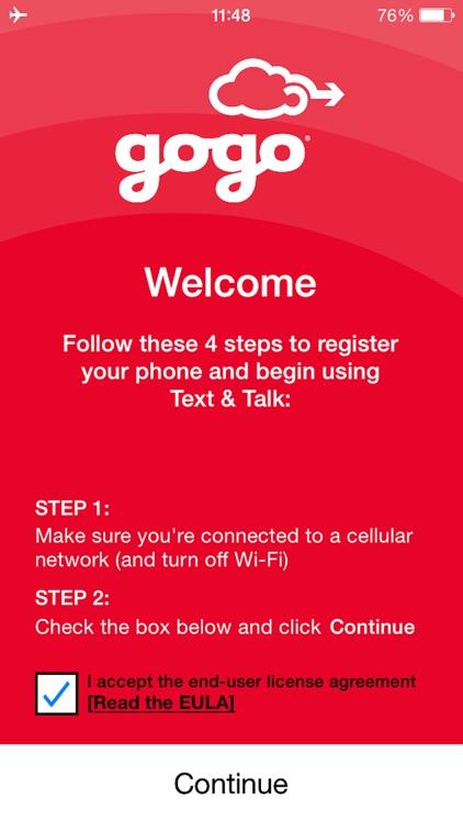 Gogo Text & Talk (Biz Av)