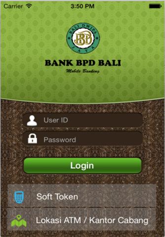 BPDBALI Mobile - náhled