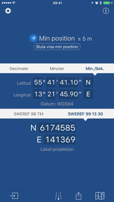 Svenska koordinater PRO på PC