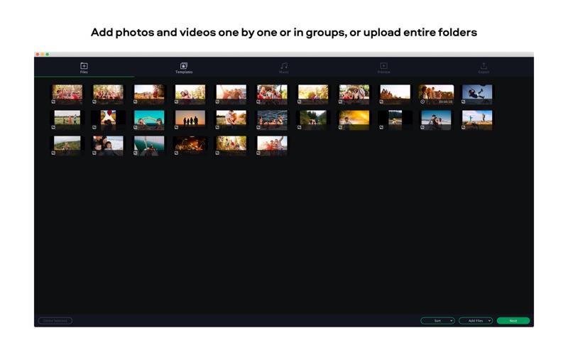Slideshow Maker Movavi Screenshots