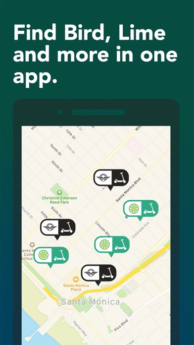 Scooter Map - All the Scooters Screenshot