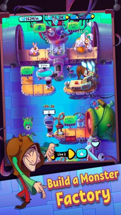 Idle Monster Factory screenshot 2