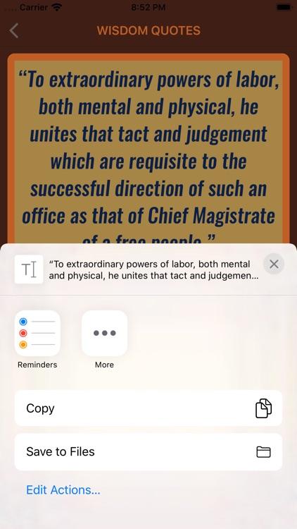 Andrew Jackson Wisdom screenshot-4