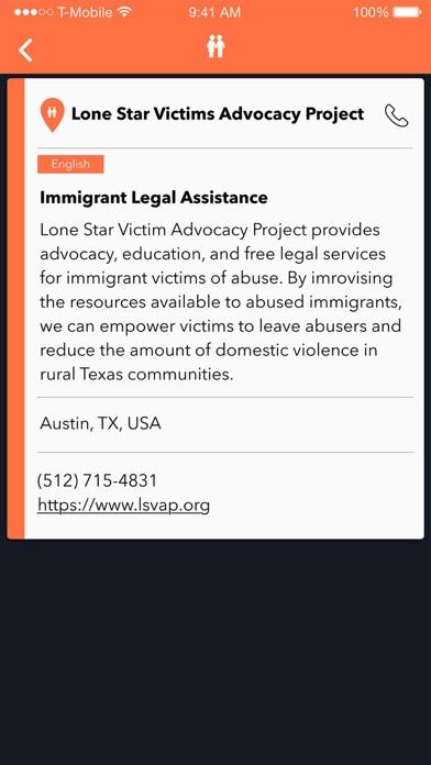 RefAid - Refugee Aid App screenshot four