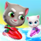App Icon for Talking Tom Jetski 2 App in Azerbaijan IOS App Store