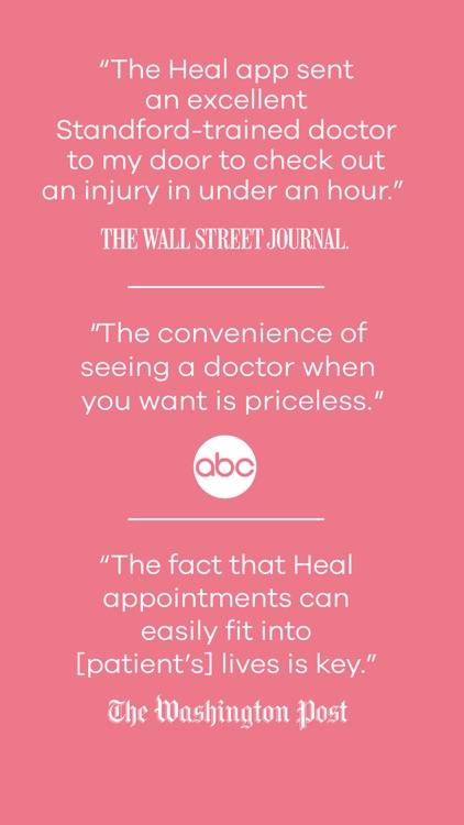 Heal – House Calls On-Demand screenshot-9