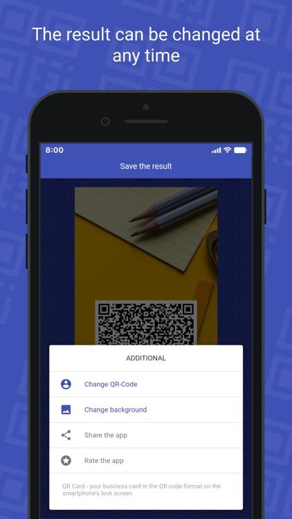 QR Card - business card screenshot-7