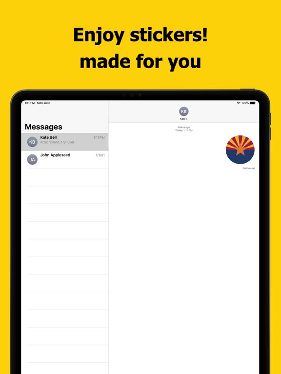 Arizona emojis - USA stickers screenshot 10