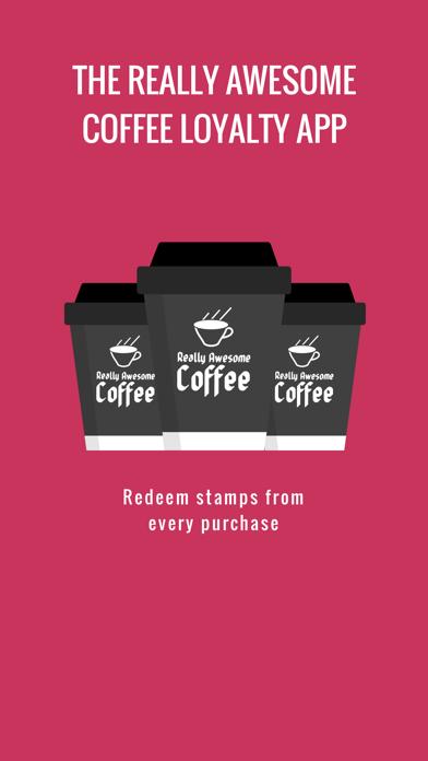 Really Awesome Coffee Loyalty screenshot one