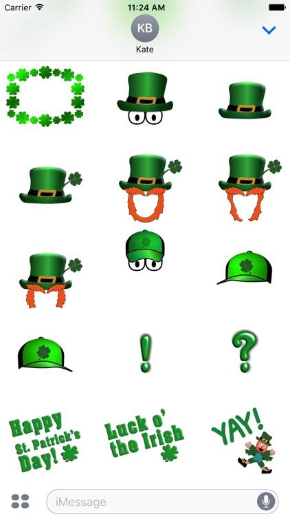 5 Little Leprechauns Stickers screenshot-3