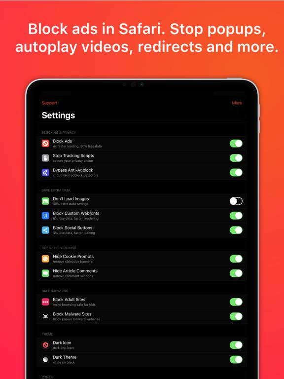 AdBlock X Screenshots