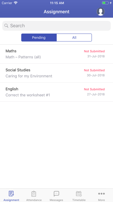 MyCamu - Student Parent App screenshot three