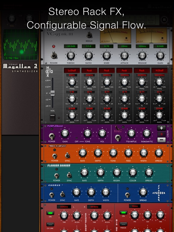 Magellan Synthesizer 2 screenshot 17