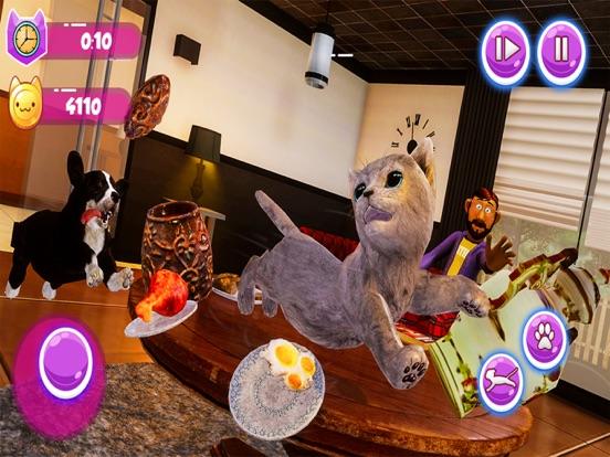 Little Kitten My Cat Simulator screenshot #2