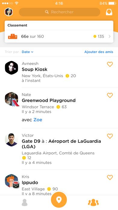 Screenshot #3 pour Foursquare Swarm: Check-in App