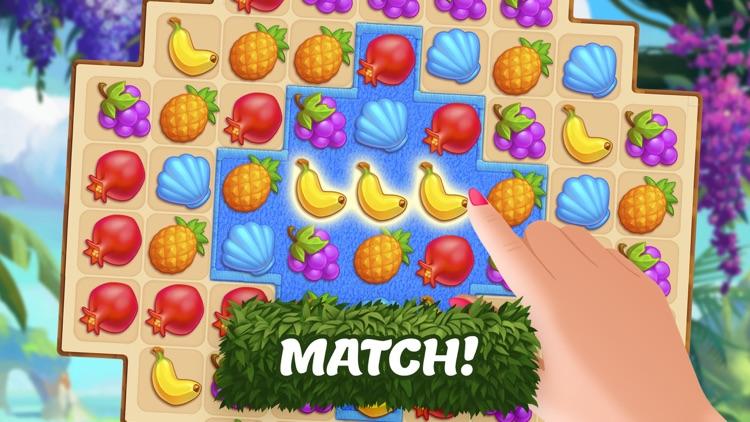 Tropical Forest: Match 3 Mania screenshot-7