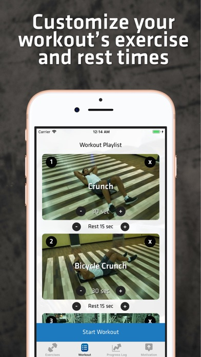 Core & Abs Workout For Men screenshot three