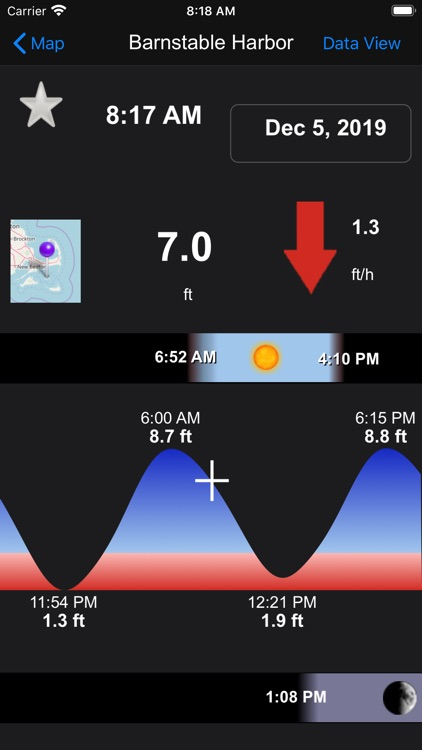 Real Tides & Currents Graph HD screenshot-5