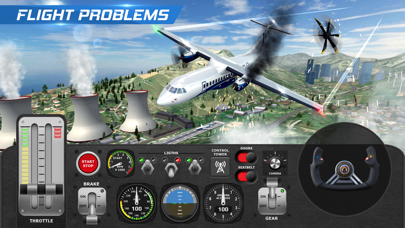 AFPS Airplane Flight Pilot Simلقطة شاشة5