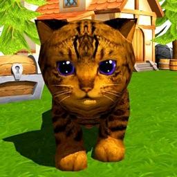 Colored Kittens, unique pet