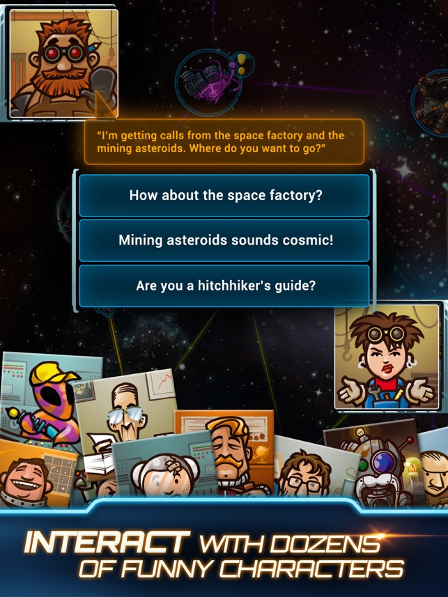 ‎Galaxy Trucker Screenshot
