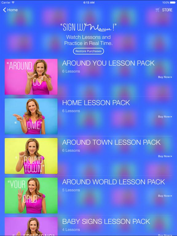 Marlee Signs screenshot