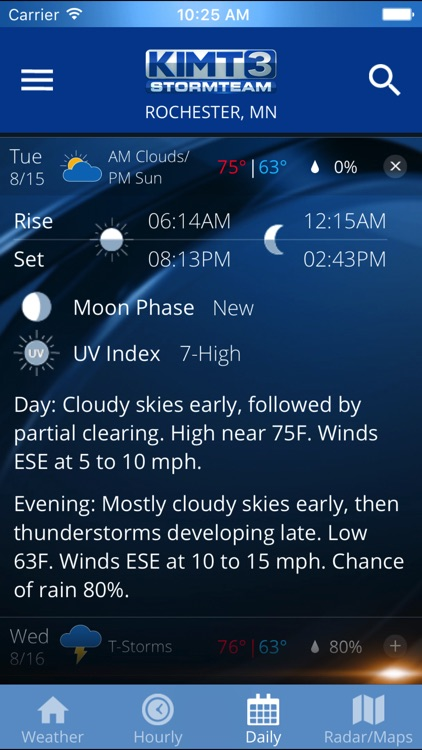 KIMT Weather - Radar screenshot-4