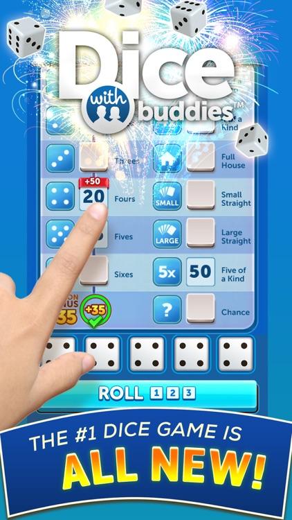 Dice With Buddies: Social Game screenshot-0