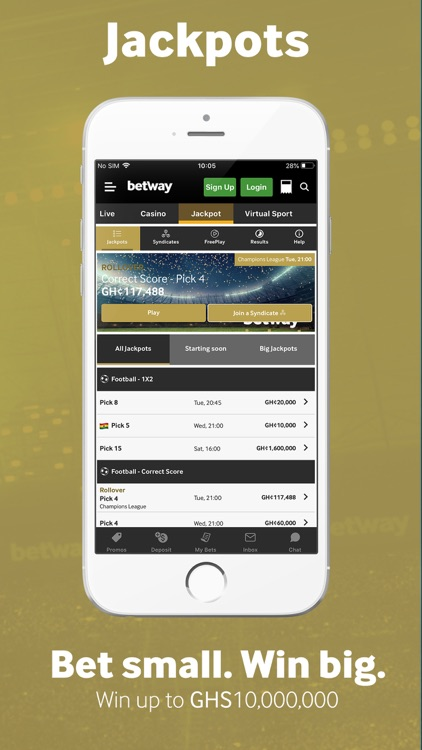 Betway: Sports Betting screenshot-3