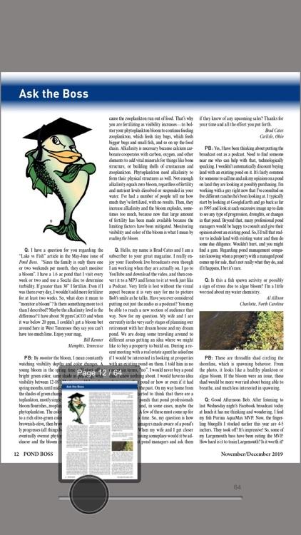 Pond Boss Magazine screenshot-3