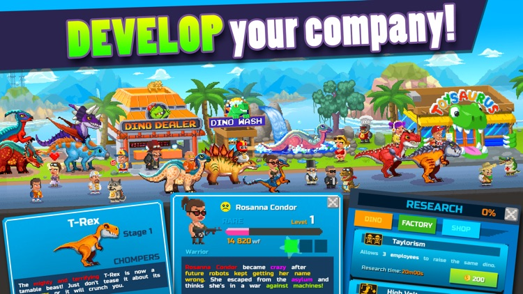 Dino Factory screenshot-4