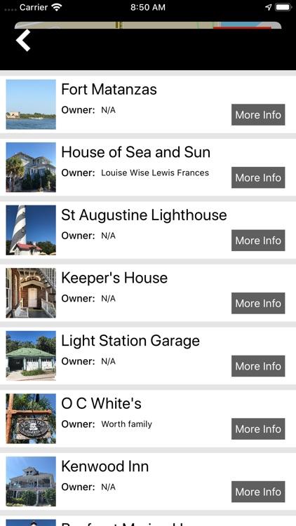St. Augustine Ghost Map screenshot-3