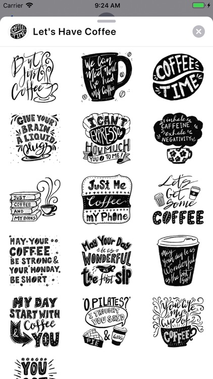 Let's Have Coffee
